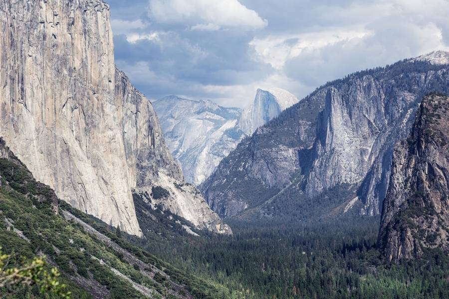 fun things to do in Modesto, Ca - image of yosemite national park